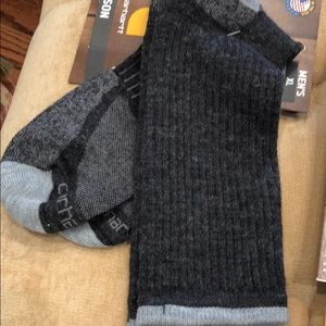 "2 Prs of Carhartt  ""All Season"" socks size XL  NEW"